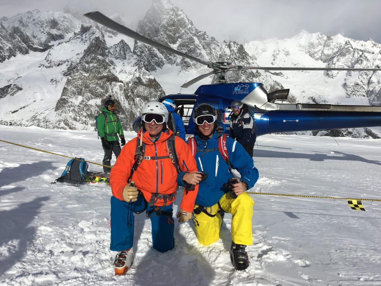 Heli Ski Mt. Blanc, Italy
