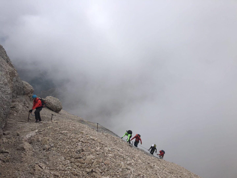 Marmolada, Dolomites , Italy