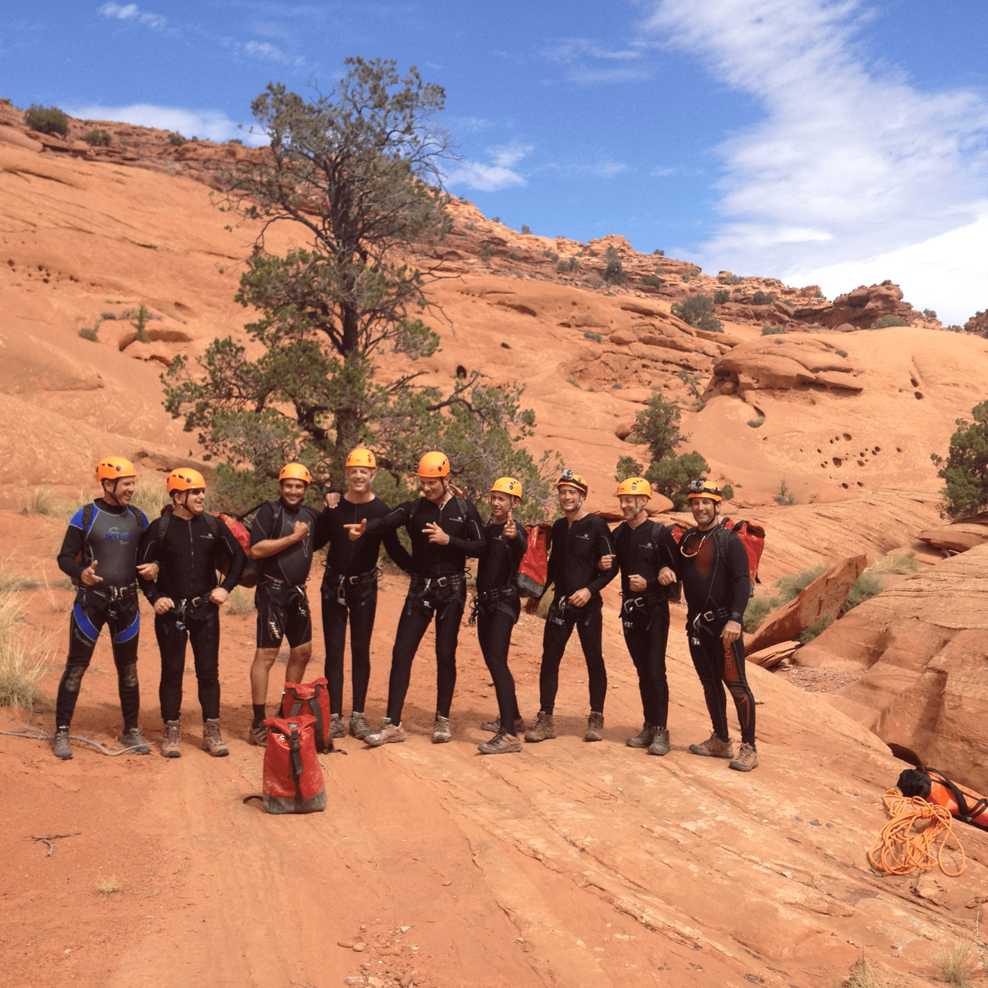 Canyoneering in the Slot Canyons of Escalante, Utah